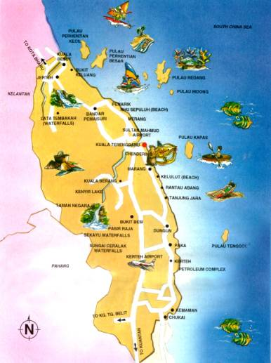 Pulau Tenggol Terletak Diluar Pantai Terengganu Berdekatan Dungun